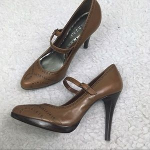 BCBGirls / Leather Mary Jane Heels